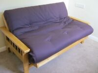 Top Quality Solid Oak FUTON (Double bed)