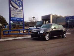 2009 MINI Cooper 16-inch alloys! Leather! Turbocharged!