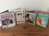 Set of Cooking and baking books for Children.