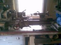 SMALL METAL LATHE SOUTHBEND WITH SCREWCUTTING GEARBOX