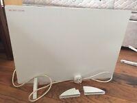 Argos simple value panel heater
