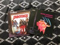 Black sabbath records - paranoid original press - sabotage rerelease
