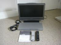 Sony BRAVIA LCD Digital TV and DVD Player
