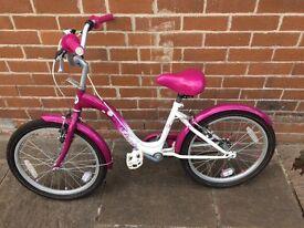 Girls French style bike