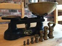 Salter Stafforshire Kitchen Balance Scales