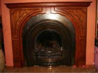 Cast Iron fireplace, Surround & Hearth