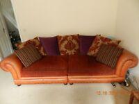 Large 4 seater sofa.