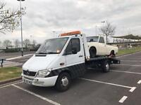 Recovery truck mercedes sprinter remapped 160bhp rhd not lhd 3000£ ready for work ! Uk reg