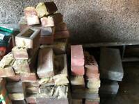 Reclaimed facing bricks