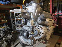 VW POLO 02-05 1.2 PETROL COMPLETE ENGINE (CODE VDH) WITH GEAR BOX 65BHP