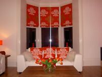 MADE TO MEASURE MAKE UP SERVICE FOR ROMAN BLINDS ,CURTAINS,PADDED PELMETS FROM YOUR OWN FABRIC