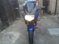 BMW f800st with BMW sports expandable panniers and 50 ltd top box in very good condition