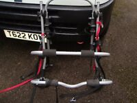 BIKE RACK TAKE UP TO 3 BIKES IN VERY GOOD CONDITION ONLY £20 FOR QUICK SALE