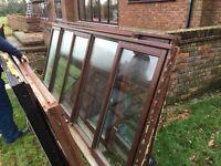 Wooden window frames double glazed