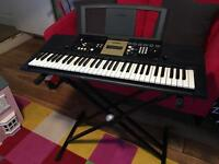 Yamaha digital portable keyboard plus adjustable stand. Perfect condition. Fully working. £30