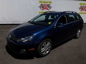 2011 Volkswagen Golf Wagon Comfortline, Manual, Leather,Pano Sun