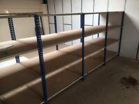 Rapid racking storage shelving 92.5cm x 112.5cm x 162cm high