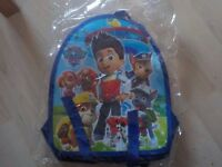 BRAND NEW - Paw Patrol Back Pack - Collect from PE27 5JU or can Post for extra