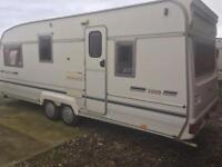Bailey senator 5000 twin axle 5 berth touring caravan