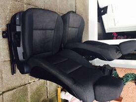 BMW e60 interior seats