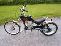 Moto chopper bike