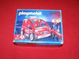 Playmobil Fire Chief Car