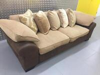 Sofa DFS -3seats RRF:£750 NOW ONLY £250 **almost new **