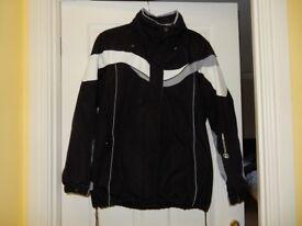 Ladies Large Radiance Good Quality Black/White Ski Jacket