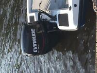 2007 Bass Boat, motor and trailer