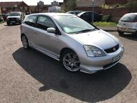 Honda Civic Type R. Genuine low mileage. New 12 Months MOT
