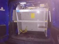 2007 Vauxhall Combo Van Racking and Shelf unit with metal BULKHEAD / PARTITION
