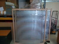1450mmx1600mm maple curved screens in perspex in outstanding condition only £105 each