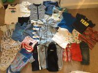 3/6m baby boy clothing bundle vgc