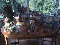 Sylvanian Families - Tree House, Pleasure Boat, Nursery, Hospital, Cart & Pony, Gift Shop, families