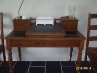 Victorian clerks desk partially restored