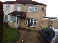 LARGE 4 BEDROOM SEMI DETACHED HOUSE IN BRADWELL GREAT YARMOUTH
