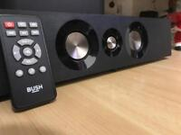 Bush 200W 4.1Ch Soundbar with Subwoofer Remote Optical Cable