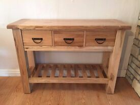 Solid Wood Sideboard / Console Table