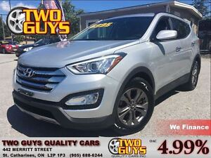 2013 Hyundai Santa Fe Sport 4 NEW TIRES HEATED SEATS ALLOYS FWD