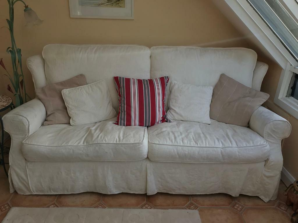 3 seater sofa & matching chair