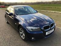BMW 3 Series 320d EfficientDynamics 4dr, 3 Months Warranty,F S History,1 Year MOT,1 P Owner.