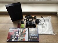 Sony Playstation 2 PS2 Bundle - Console, Games, Memory Cards, Controller, Instructions, Power Cords