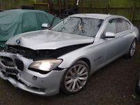 BREAKING FOR PARTS BMW F01 730LD LWB AUTO 2010