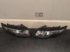 Range Rover Evoque headlights headlamps lights front pair