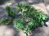 Artificial aquarium/vivarium plants for sale