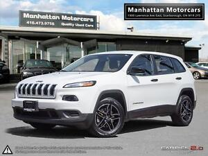 2015 JEEP CHEROKEE SPORT |BLUETOOTH|1OWNER|ALLOY|CAMERA|WARRANTY