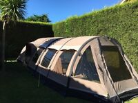 outwell smart air concorde L tent and outwell smart air concorde L&M awning poly cotton