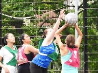 Versatility - netball, basketball and frisbee combined - join the league