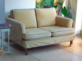 2 seater sofa - compact cottage style