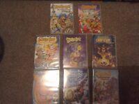Scooby Doo DVDs X 8
